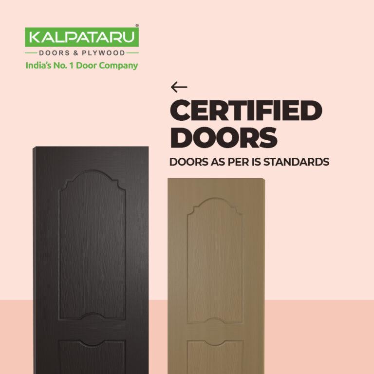 4 Moulded Panel Doors