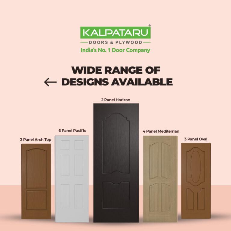 5 Moulded Panel Doors